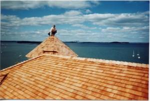 Cedar-roofing
