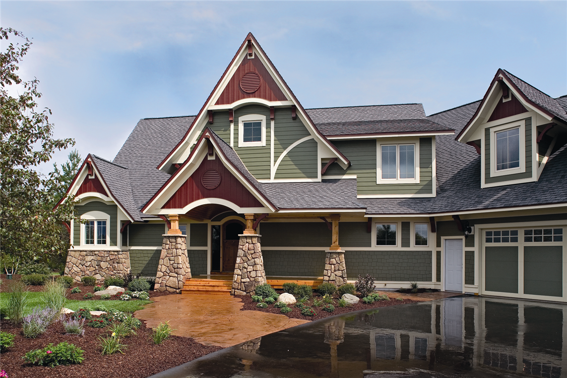 Virginia roofing siding company vinyl siding for Hardiplank home designs