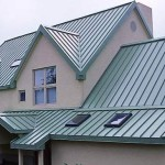 Nice roofing made of metal