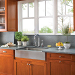 Modernized Kitchen with Wood Windows VA