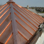 Nice Copper Roofing Example on a Business