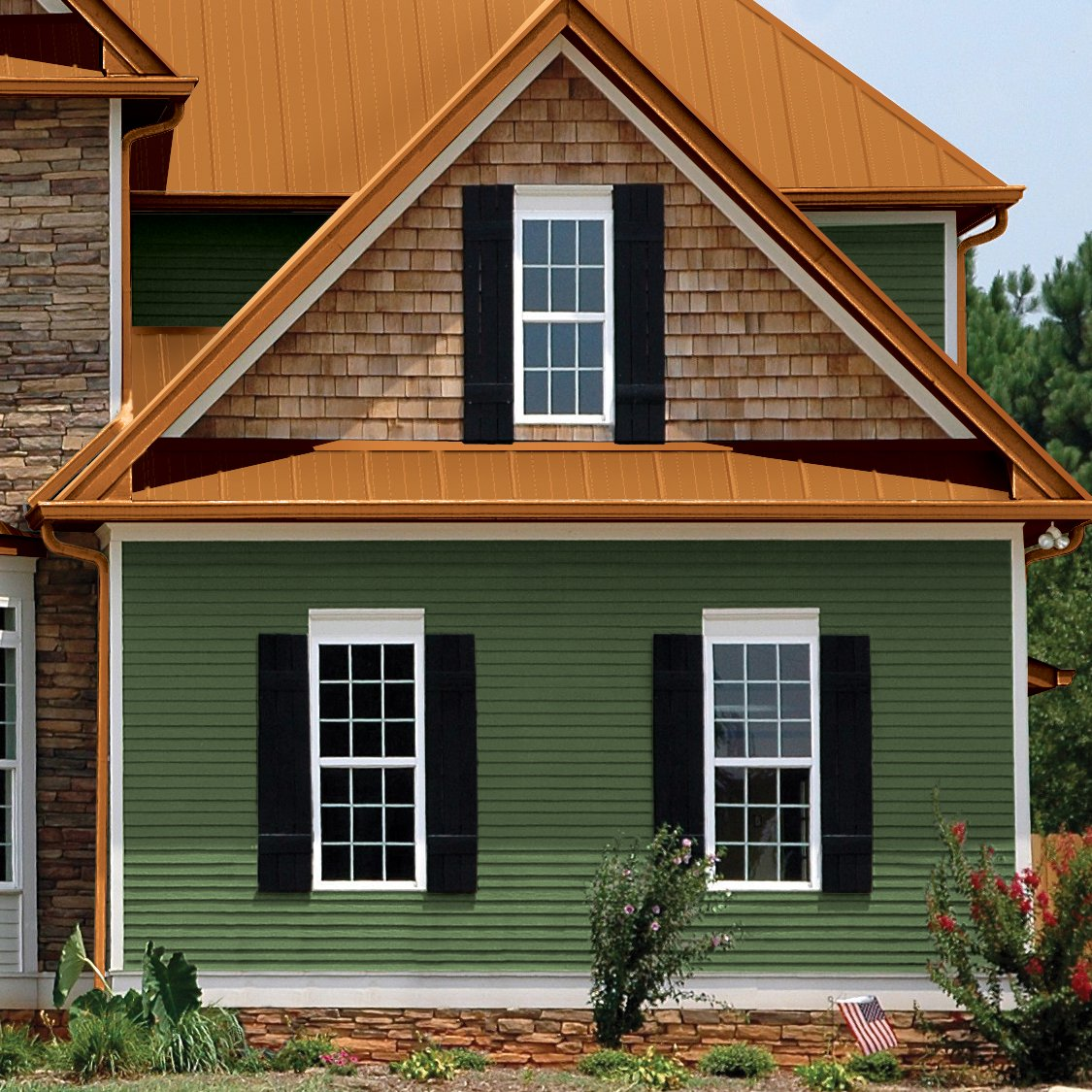 Virginia roofing siding company siding for Exterior siding design ideas