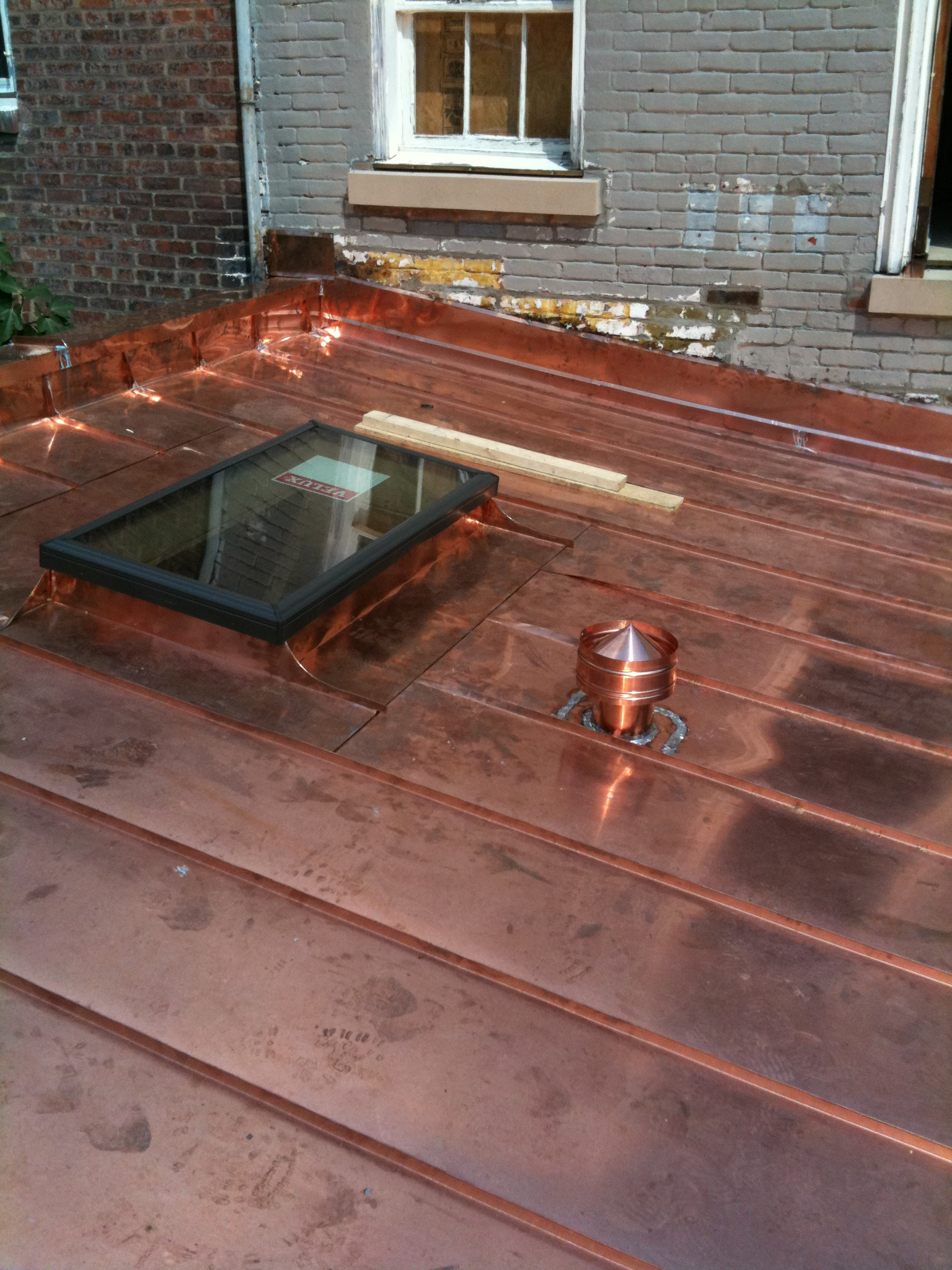 Copper Roofing Installation Contractor Services Northern