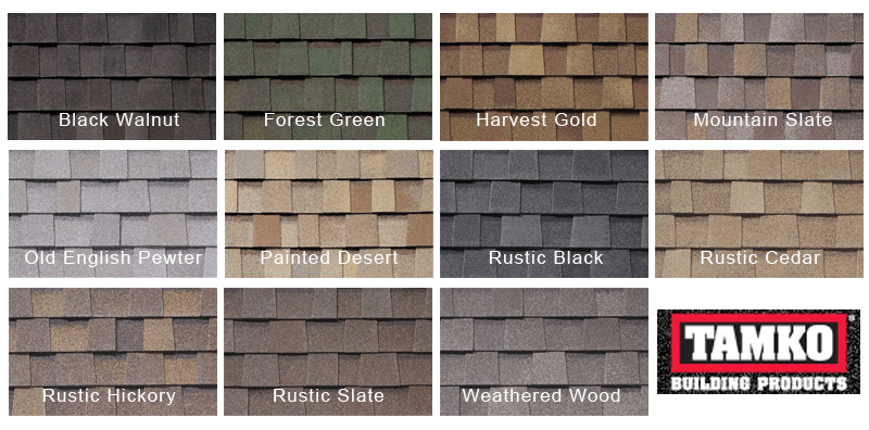 Virginia roofing siding company architectural roof for Roof color