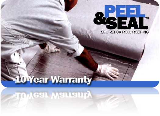 Peel & Seal Self-Stick Aluminum Roll Roofing