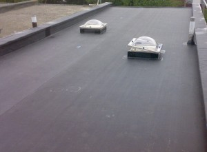 Commercial EPDM Roofing Project Arlington Va