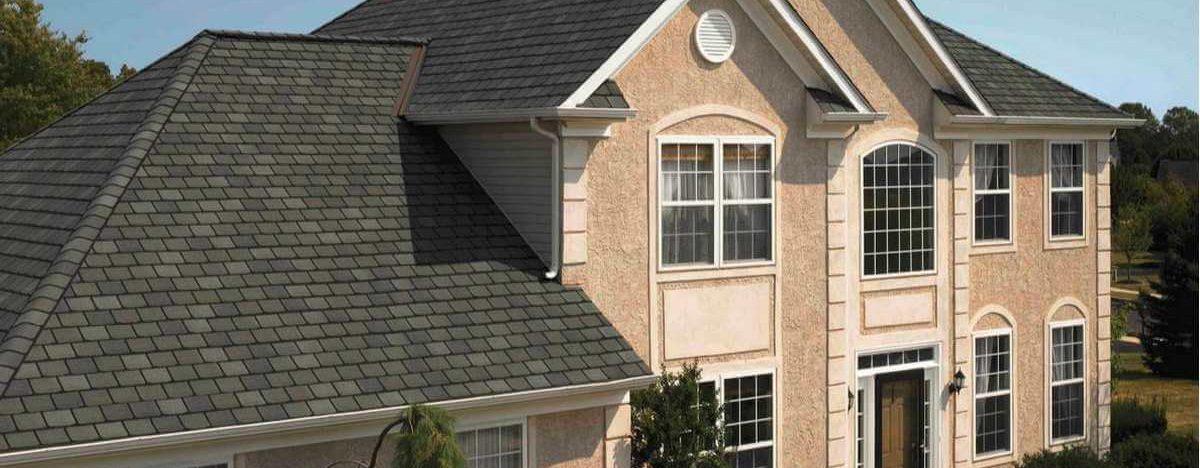 Architectural Asphalt Shingles on a Modern Home North VA