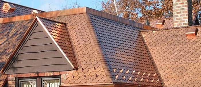 Copper Roof Installation North VA Fairfax County
