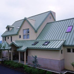 Commericial metal roofing example in DC