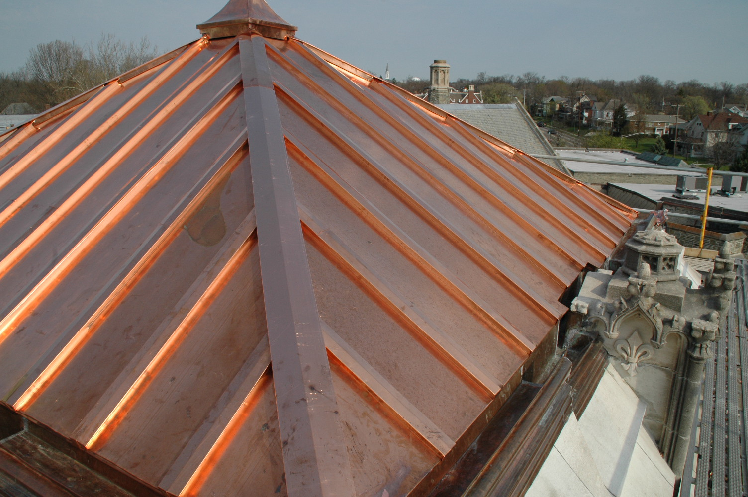 Virginia roofing siding company copper roofing for Northern virginia roofing and exteriors