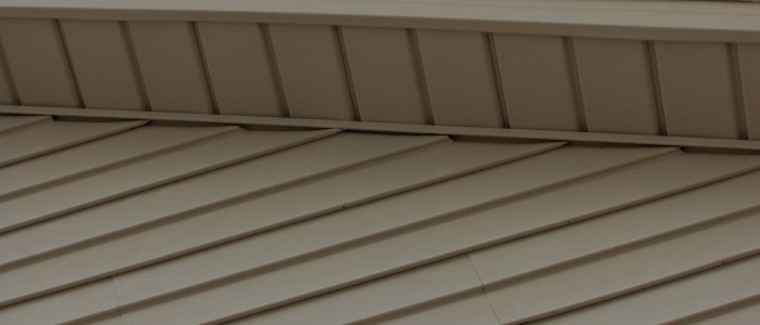 White House Trim and Soffit