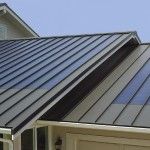 Fusion style metal roof